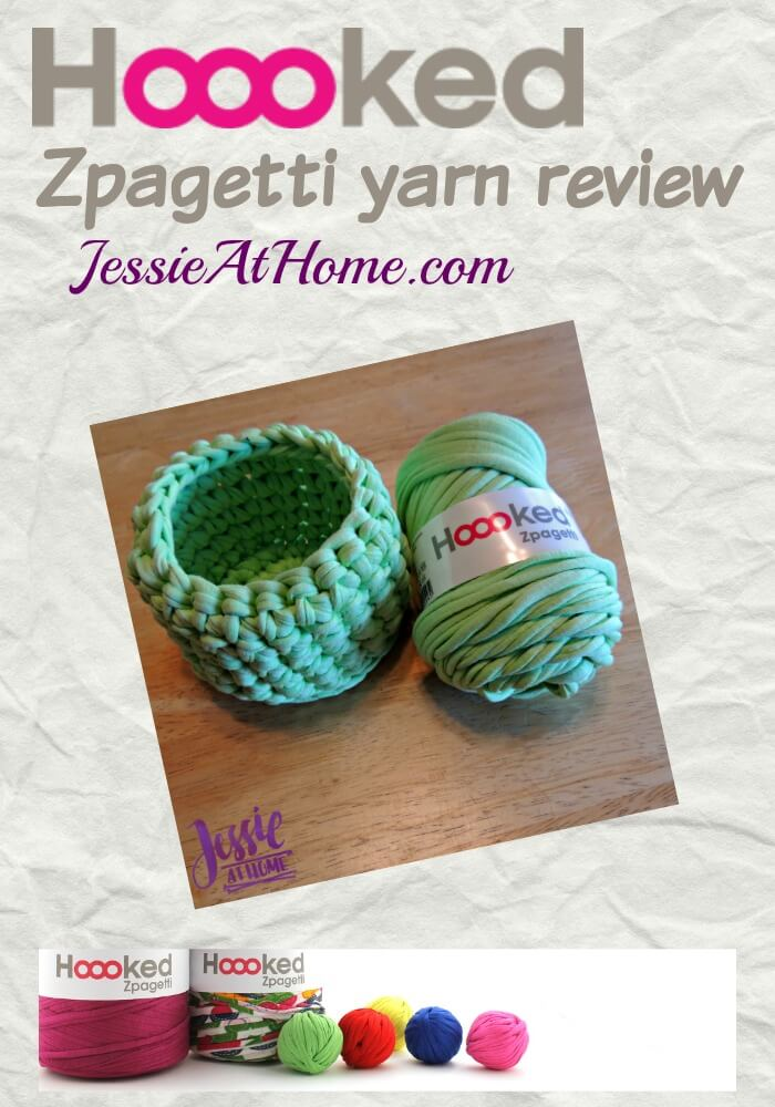 Hooked Zpagetti yarn review by Jessie At Home