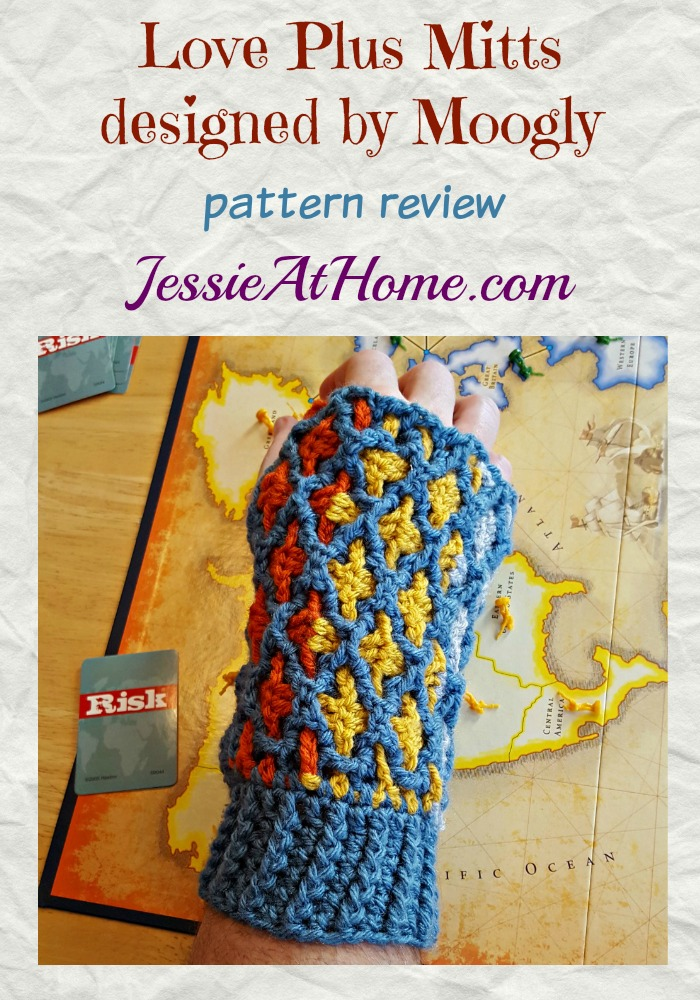 Love Plus Mitts designed by Moogly review from Jessie At Home