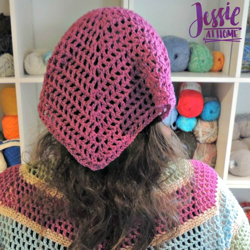 Spring Kerchief free crochet pattern by Jessie At Home - 1