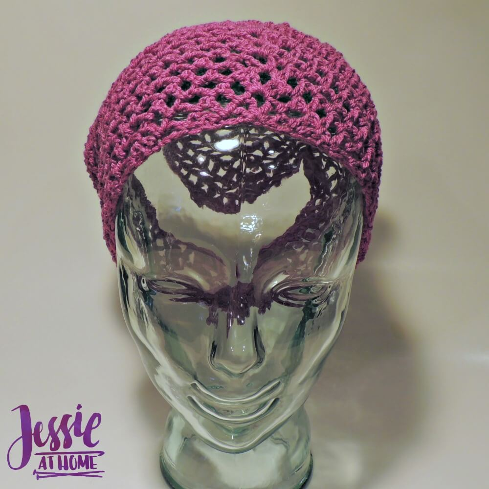 Spring Kerchief free crochet pattern by Jessie At Home - 3