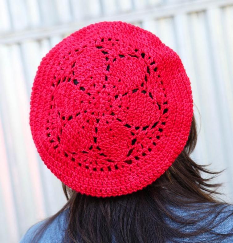 Blackberry Hat Craftsy Crochet Kit