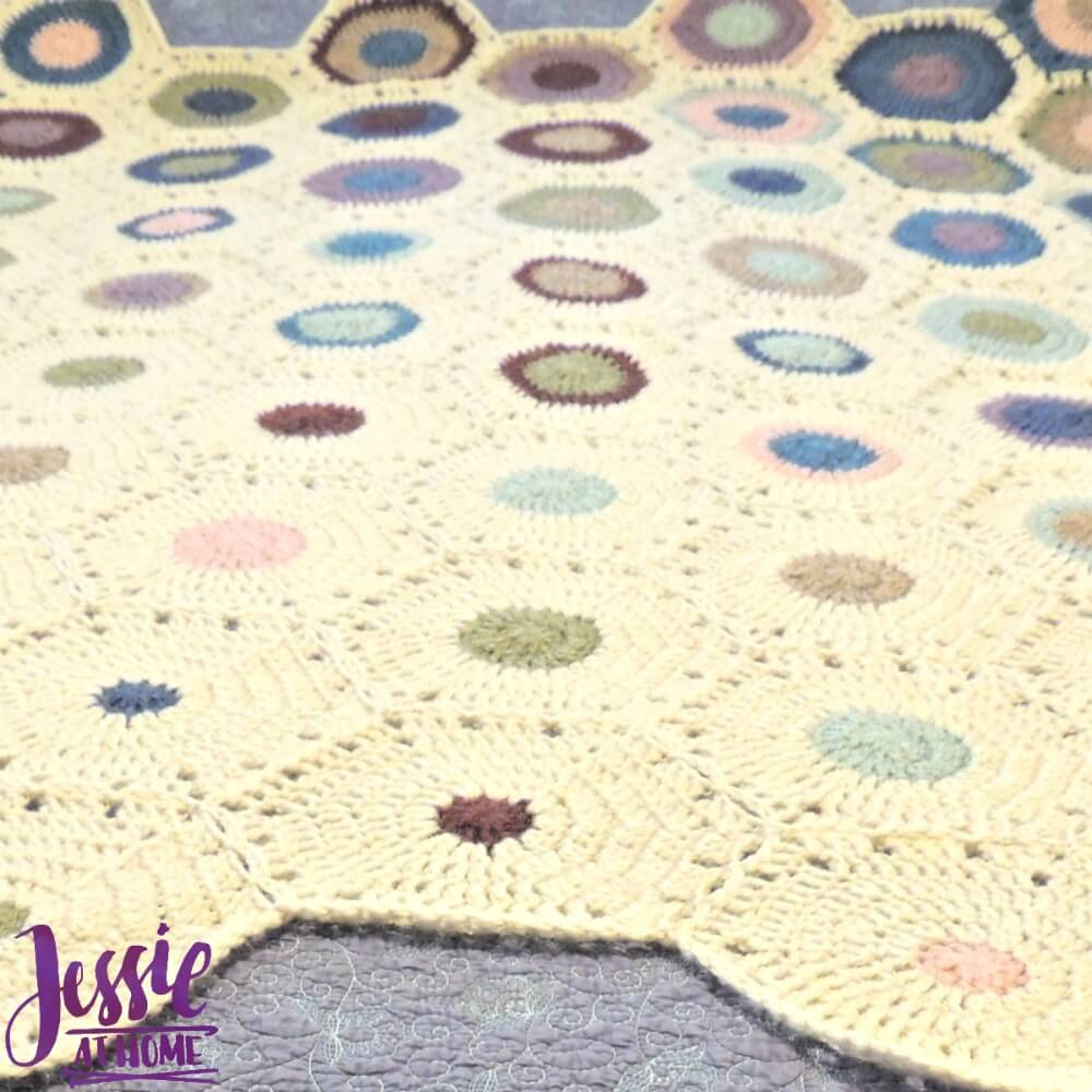 Hexagon Fade Crochet Pattern by Jessie At Home - 2