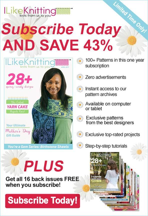 I Like Knitting Flash Sale