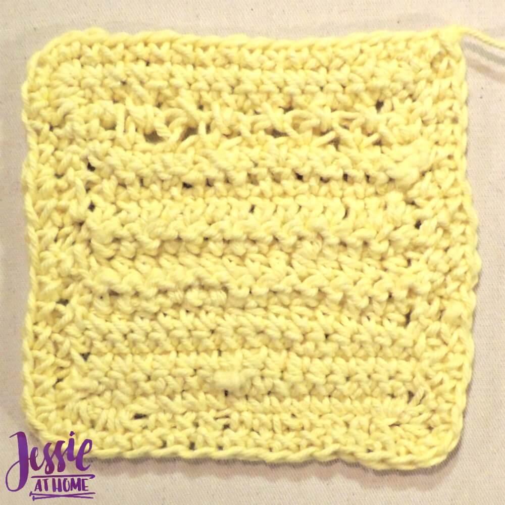 Loop Crochet coaster