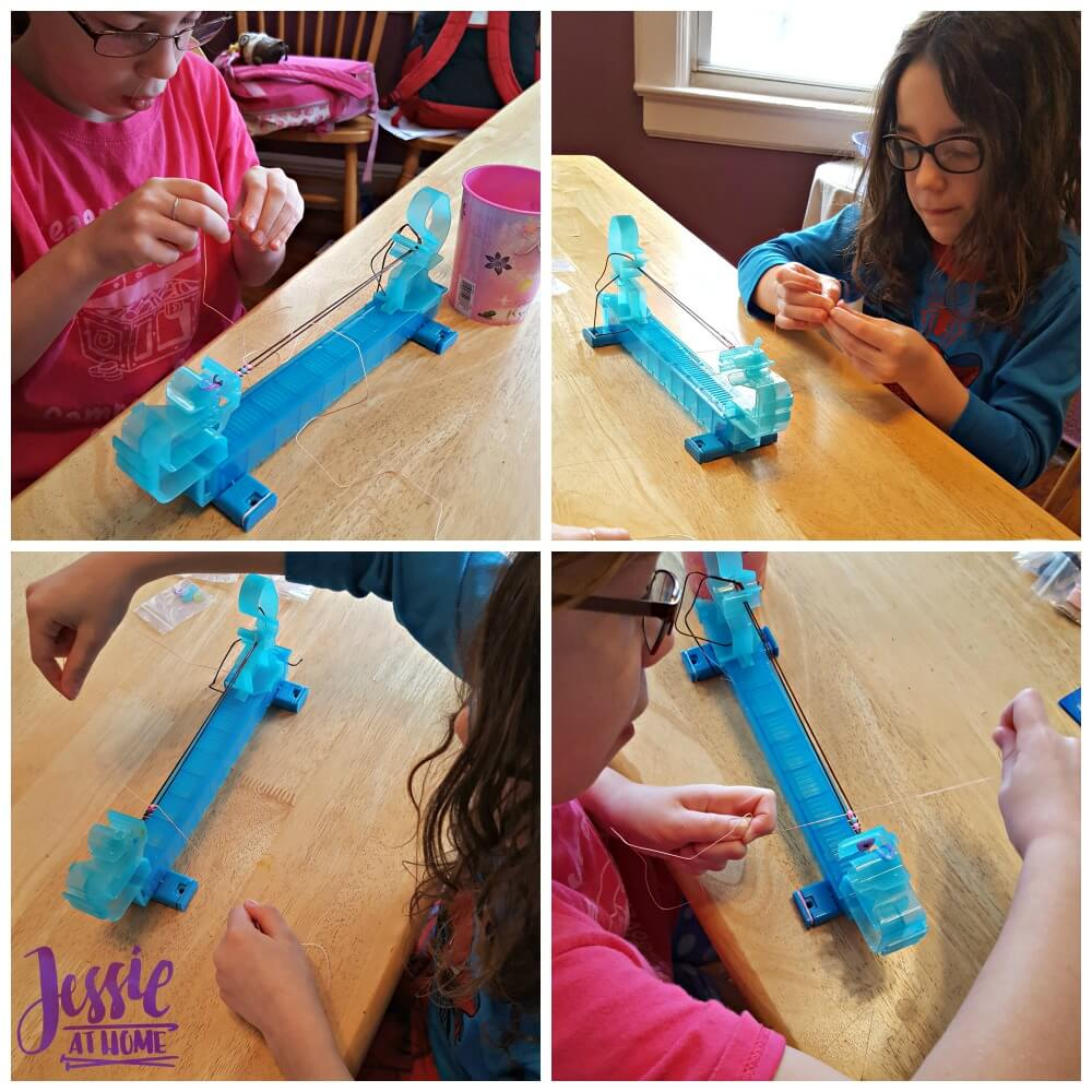 Making Bracelets with the Wrapit Loom