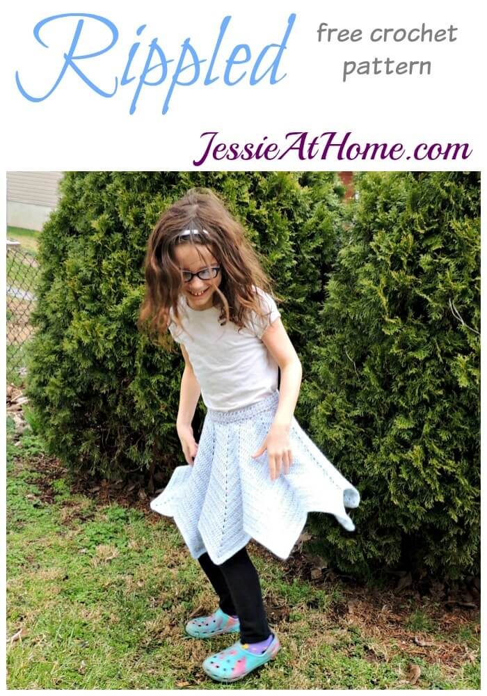 Rippled - free crochet pattern by Jessie At Home