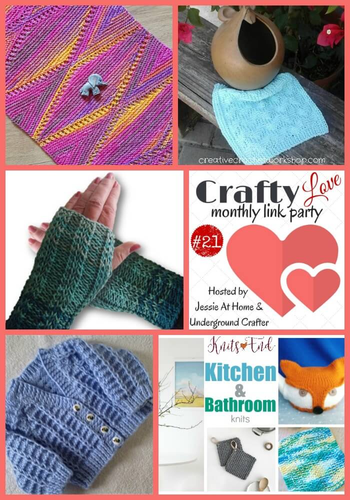 Crafty Love Link Party 21 - May 2017