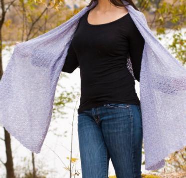 Elegant Wrap Craftsy Crochet Kit