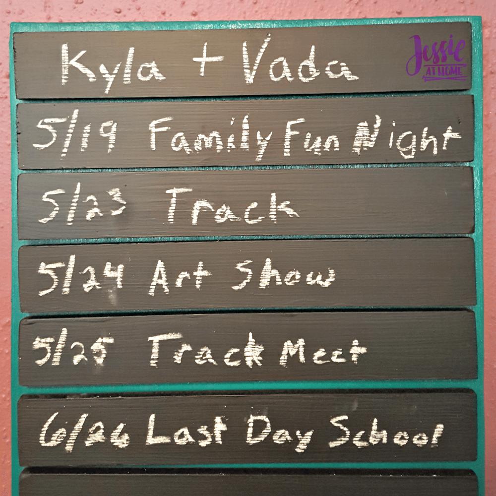 Girls Schedule