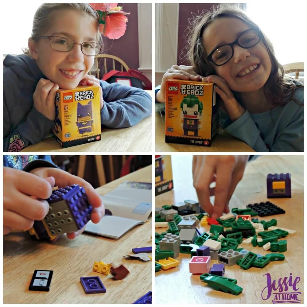 LEGO Batman Brick Headz