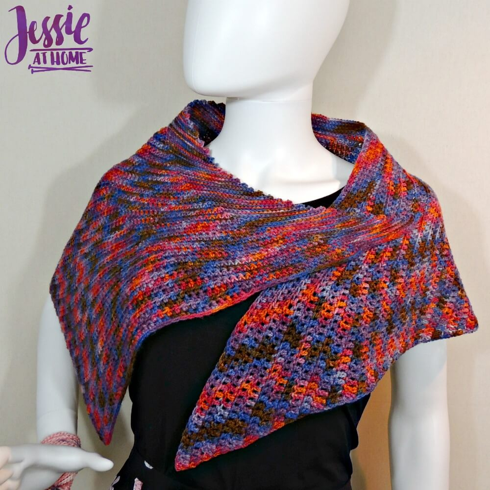 Lisa Wrap free crochet pattern by Jessie At Home - 2