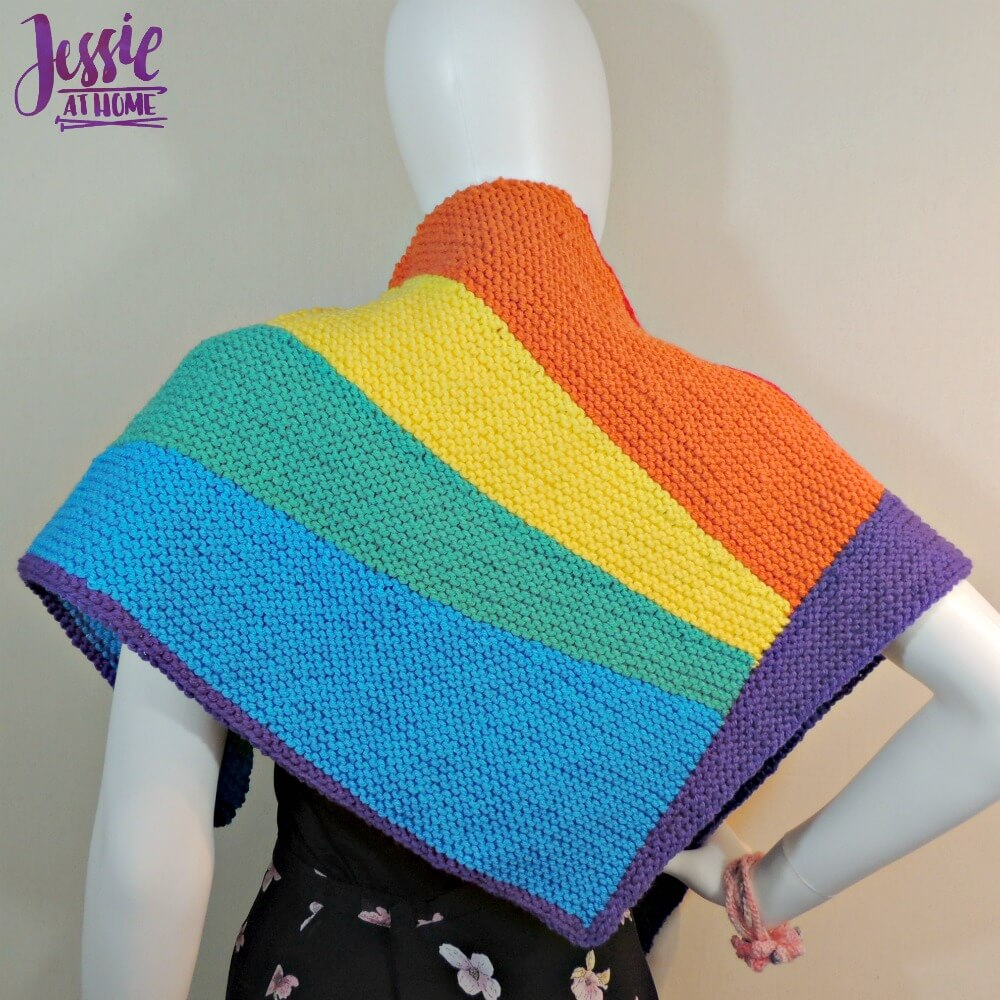 Shifting Rainbow - free knit pattern by Jessie At Home - 4