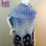 Granny Ripple Wrap free crochet pattern by Jessie At Home - 1