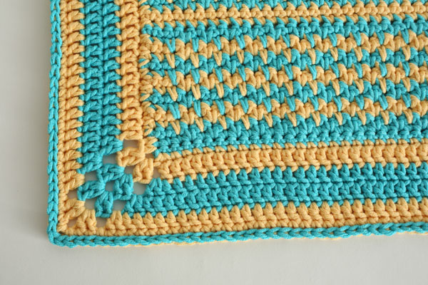 Mellow Yellow Rug free crochet pattern by Jessie At Home - 3