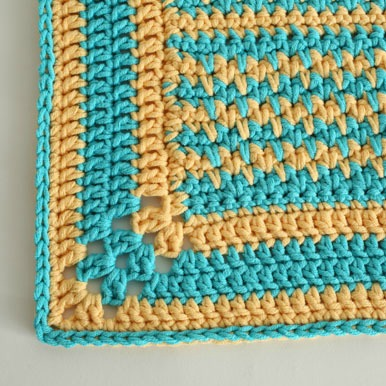 Mellow Yellow Rug free crochet pattern by Jessie At Home - 4