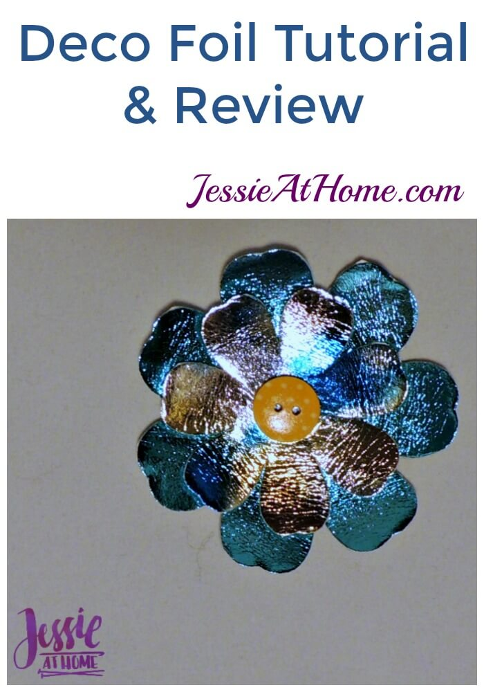 Deco Foil Tutorial & Review from Jessie At Home