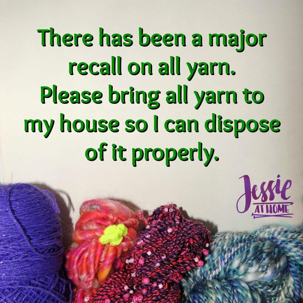 Major Yarn Recall