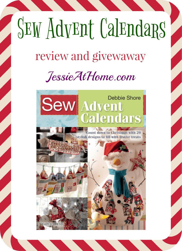 Sew Advent Calendars review and giveaway from Jessie At Home