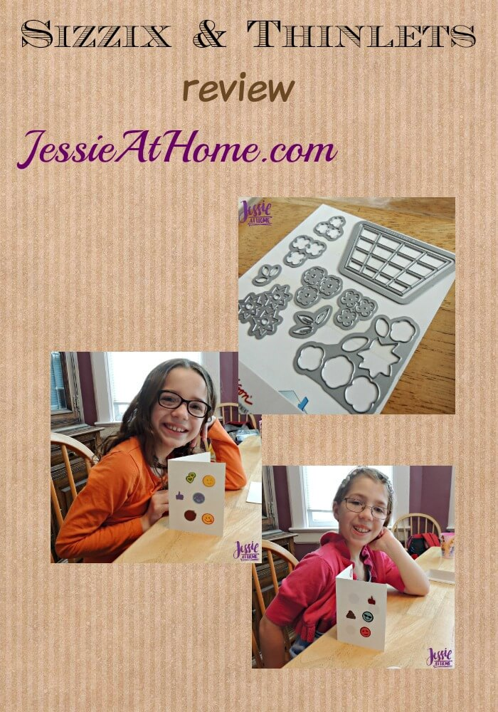 Sizzix & Thinlets review on Jessie At Home