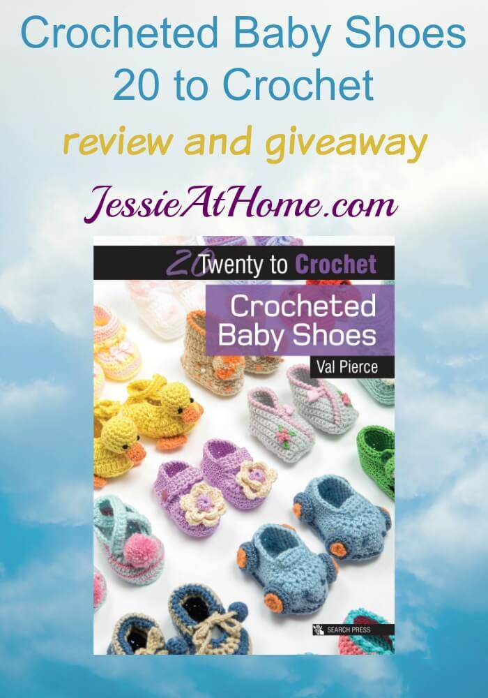 Crocheted Baby Shoes review and giveaway on Jessie At Home