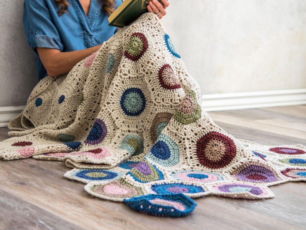 Hexagon Fade Throw Craftsy Crochet Kit