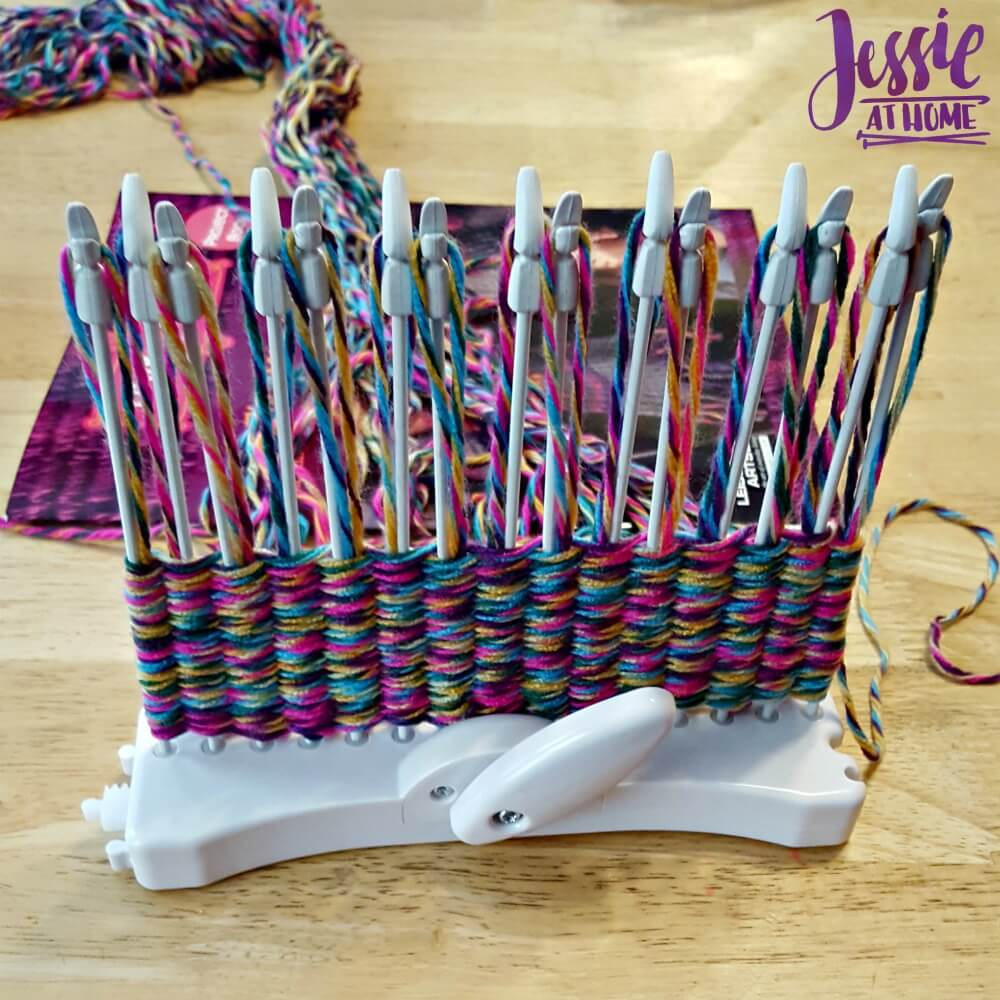 Loopdeloom weaving kit review from Jessie At Home-1
