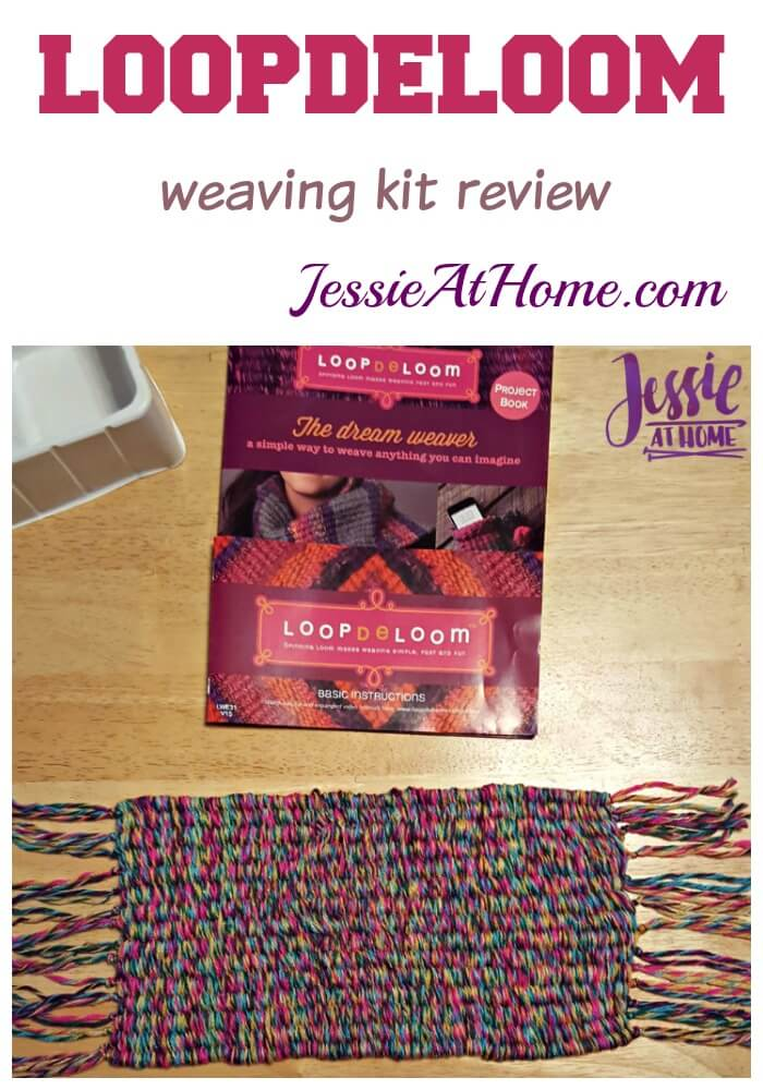 Loopdeloom weaving kit review from Jessie At Home