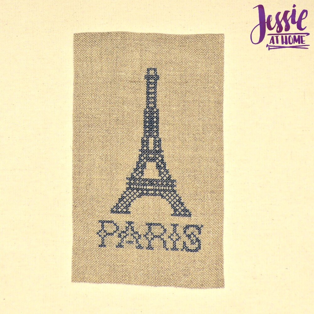 Sajou Embroidery Kit review from Jessie At Home - Paris