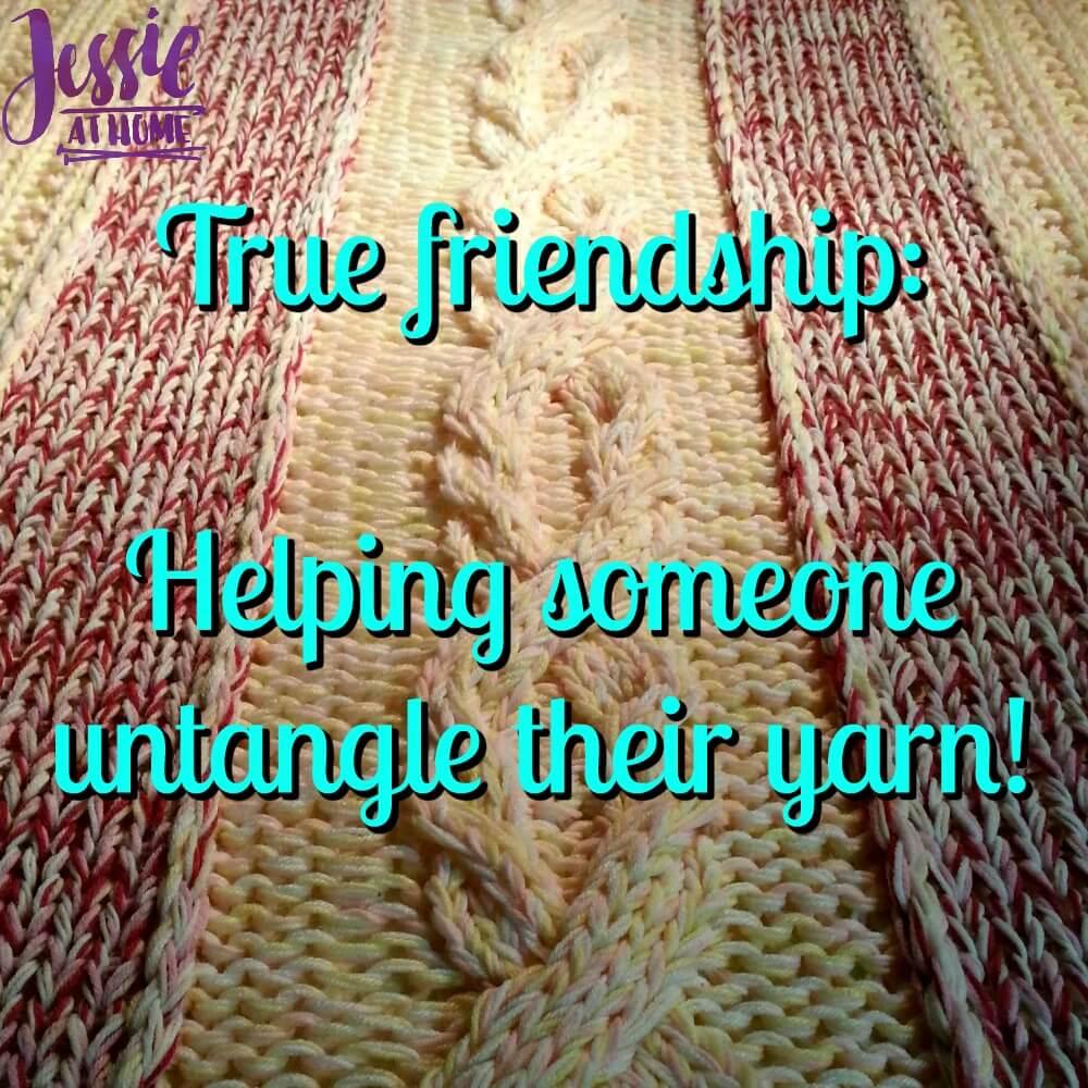 True Yarn Friendship