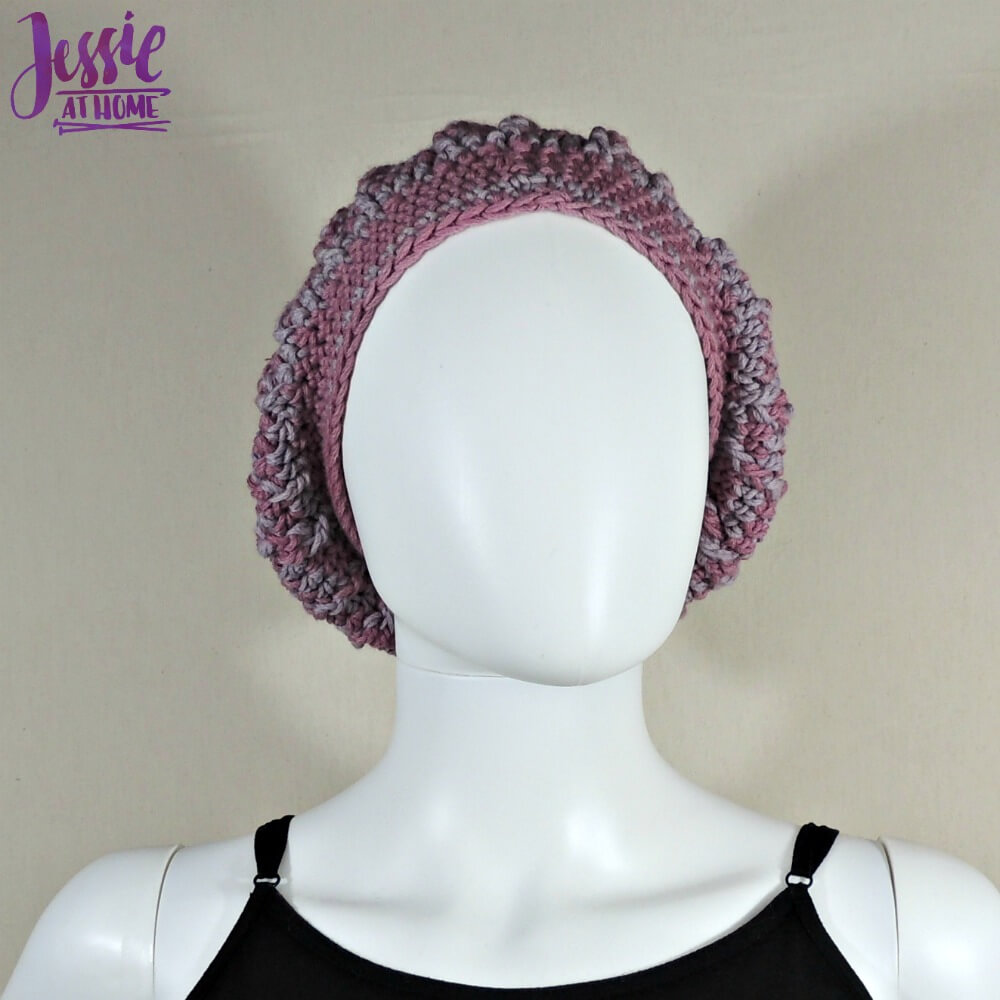 Vines and Twigs Slouch Hat free crochet pattern by Jessie At Home - 3