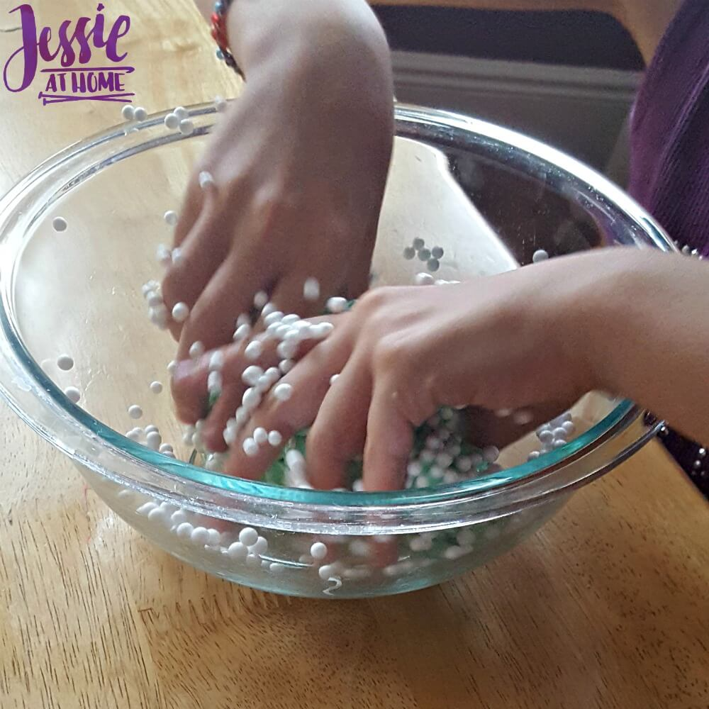 making green ball slime