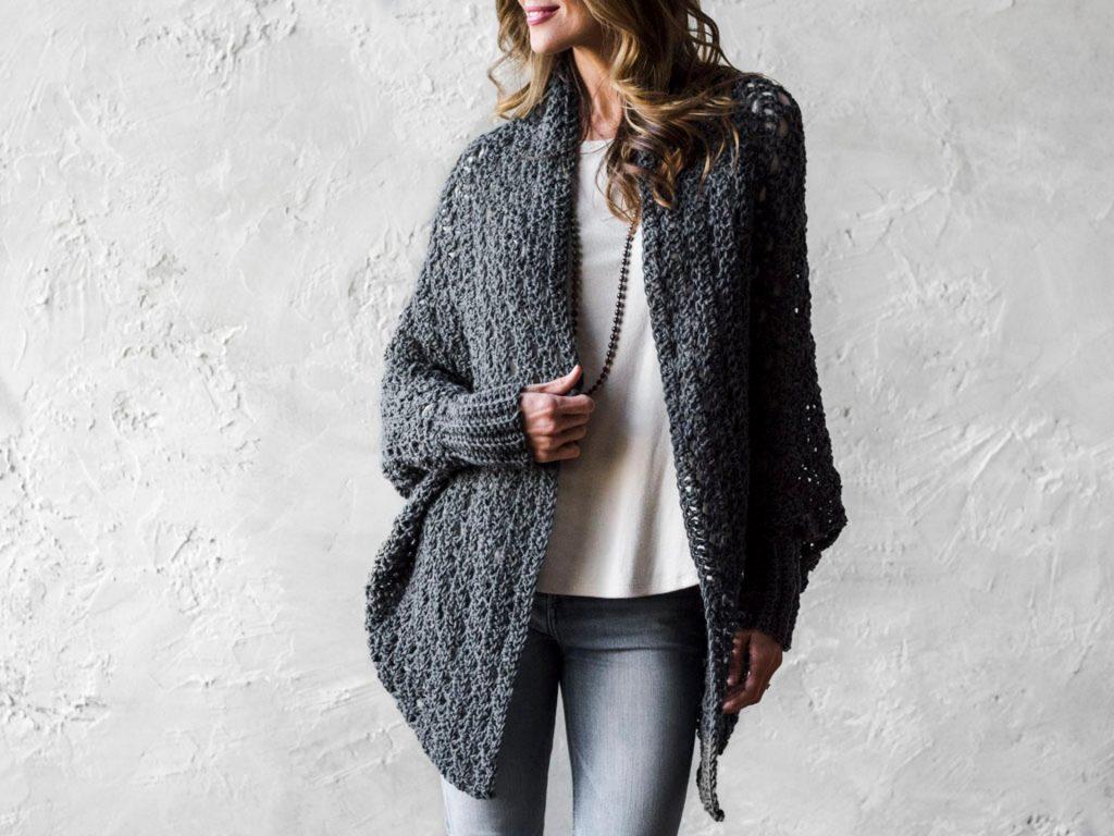 Carleton Cocoon Sweater Craftsy Crochet Kit