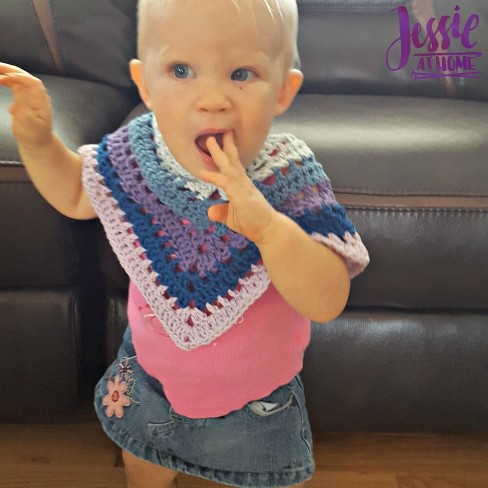 Evie Poncho free crochet pattern by Jessie At Home - 1