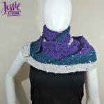Swanky Wraplette free crochet pattern by Jessie At Home - 1