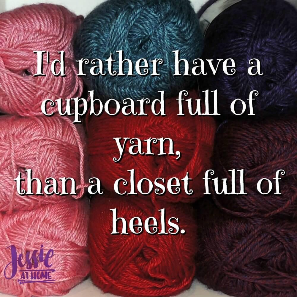 Yarn Over Heels