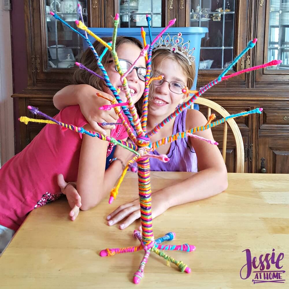 Yarn Tree by Ann Williams review from Jessie At Home done
