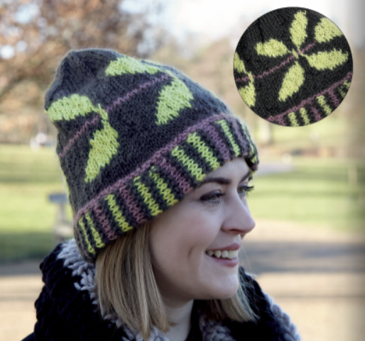 Knitted Hats Leaves