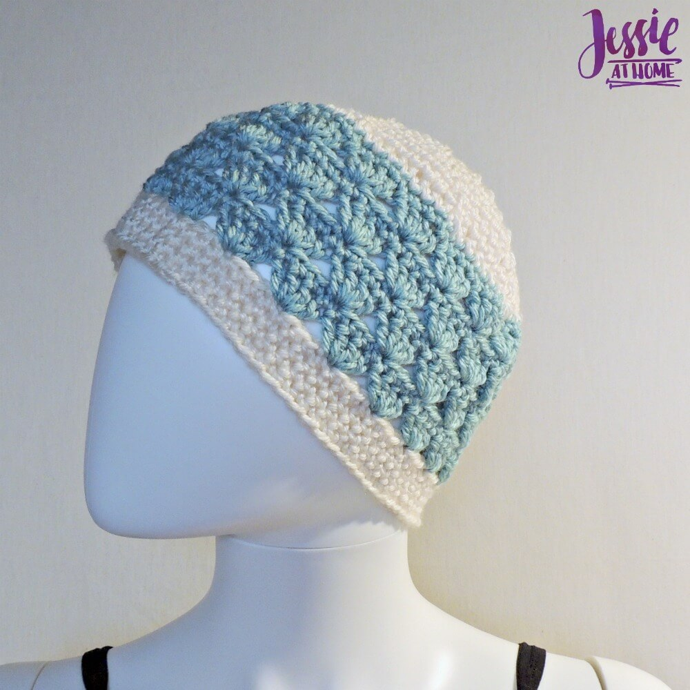Winter Duo Hat free crochet pattern by Jessie At Home - 1