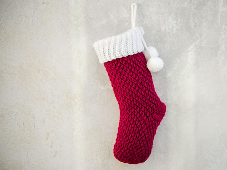 Jolly Textures Stocking Craftsy Crochet Kit
