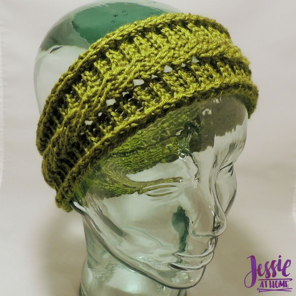 Cabled Ear Warmers - free crochet pattern by Jessie At Home - 1