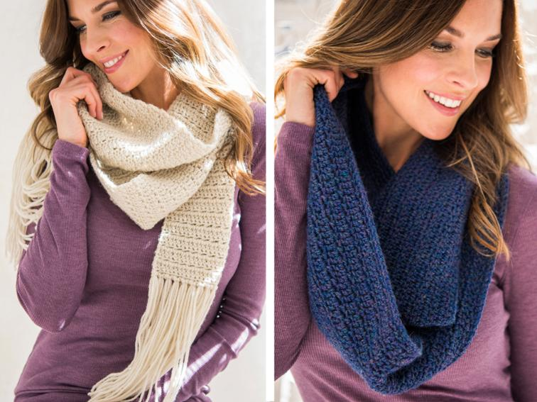 Easy Worsted Scarf or Cowl Craftsy Crochet Kit