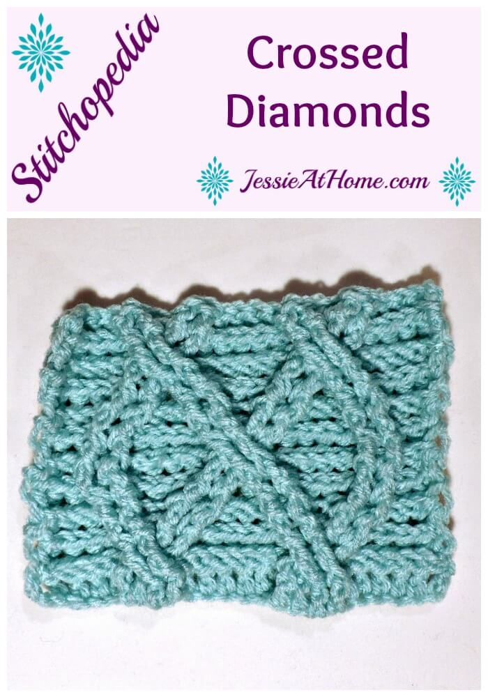 Stitchopedia Crossed Diamonds from Jessie At Home
