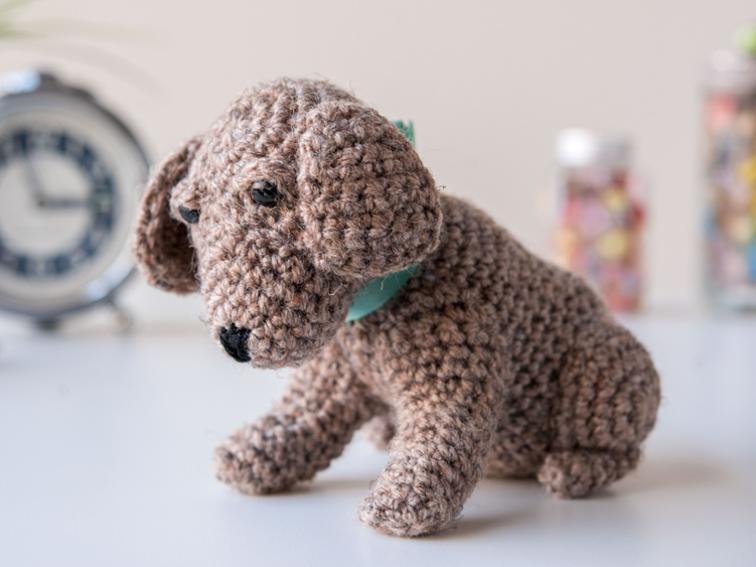 Lil' Pup Amigurumi Craftsy Crochet Kit