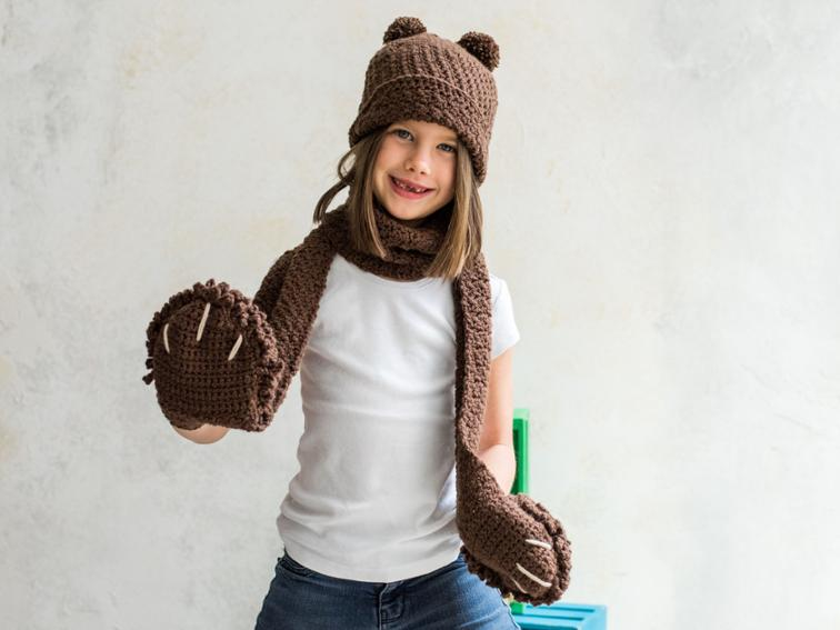 Penny Cloche and Scarf Craftsy Crochet Kit