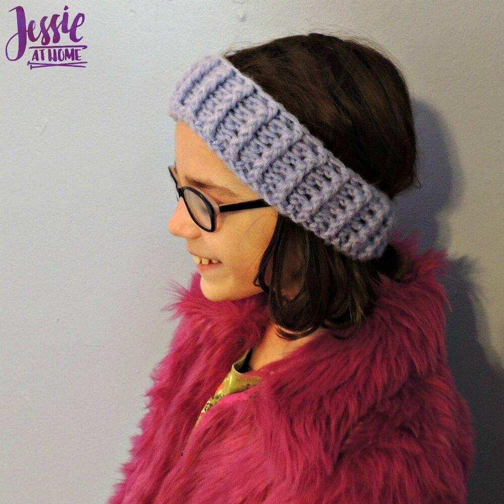 Dreamy Ear Warmers - free crochet pattern by Jessie At Home - 1