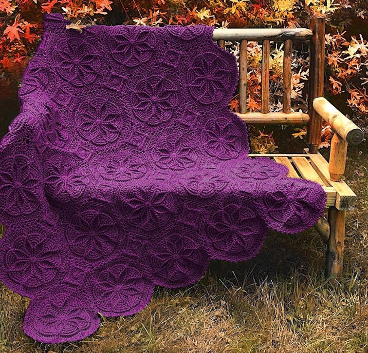 Grenoble Afghan Craftsy Crochet Kit
