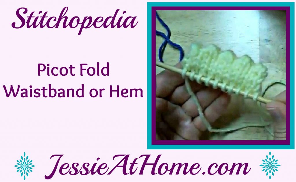 Stitchopedia - Picot Fold Waistband or Hem video cover