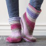 Sweet Slippers Craftsy Crochet Kit