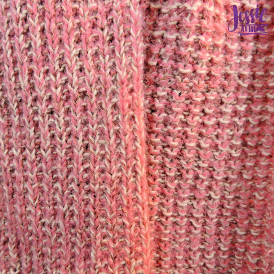 Broken Rib Scarf - knit pattern by Jessie At Home - 3