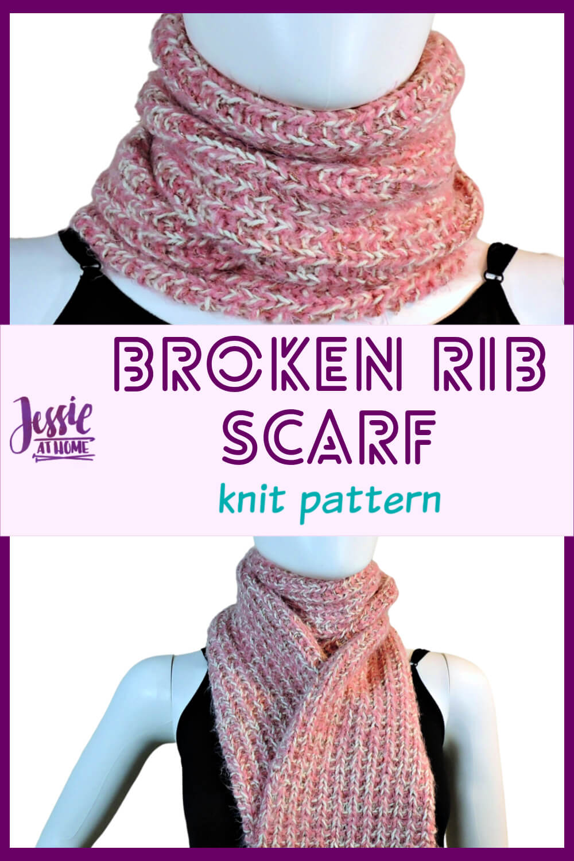 Broken Rib Scarf - full of beautiful texture